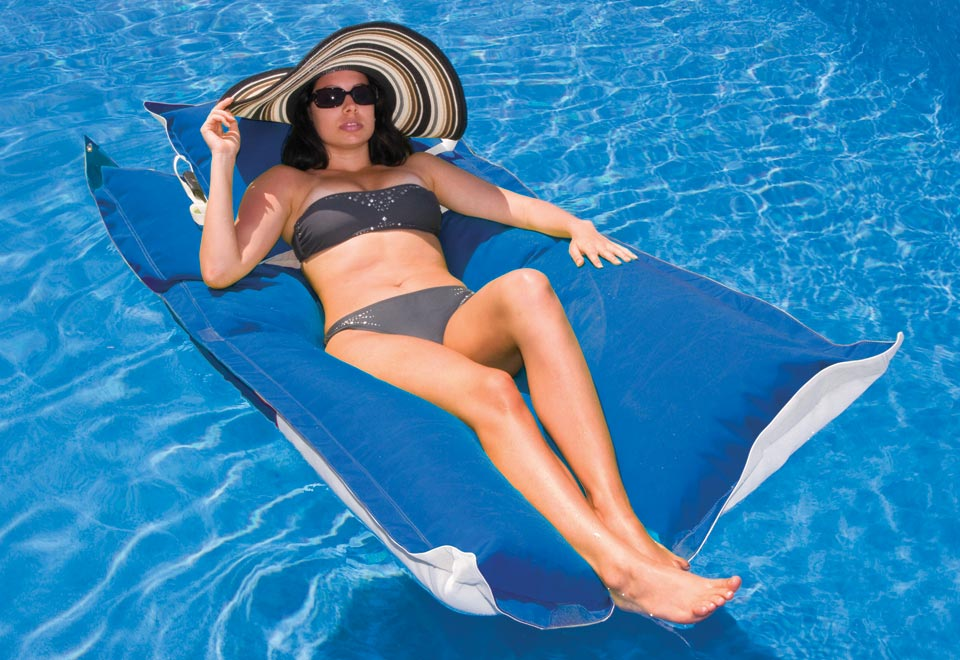 Floating Chaise Lounge Sharper Image
