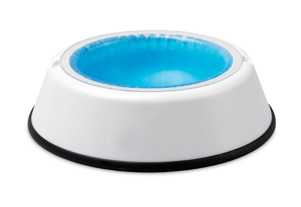 cooling pet bowl sharper image