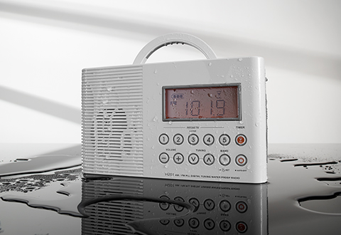 Clocks & Radios @ Sharper Image