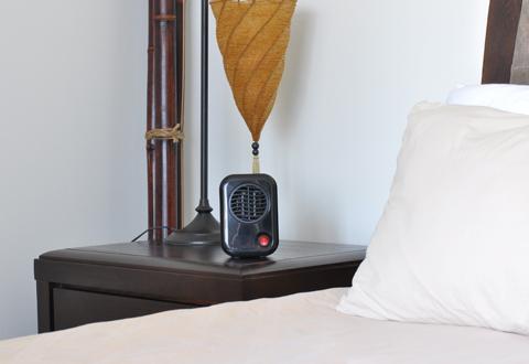 Smallest Heater Sharper Image