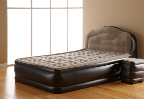 Inflatable Bed With Side Table Sharper Image
