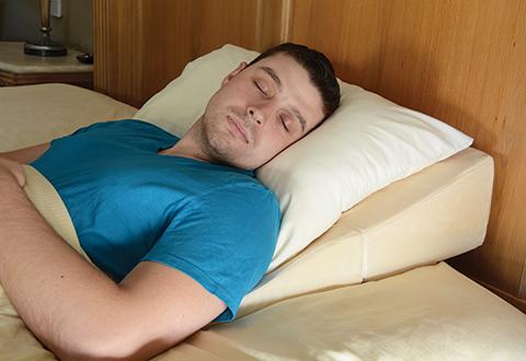 Sleep Improving Wedge Pillow Sharper Image