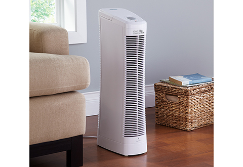 Ionic Comfort Quadra Air Purifier At Sharper Image