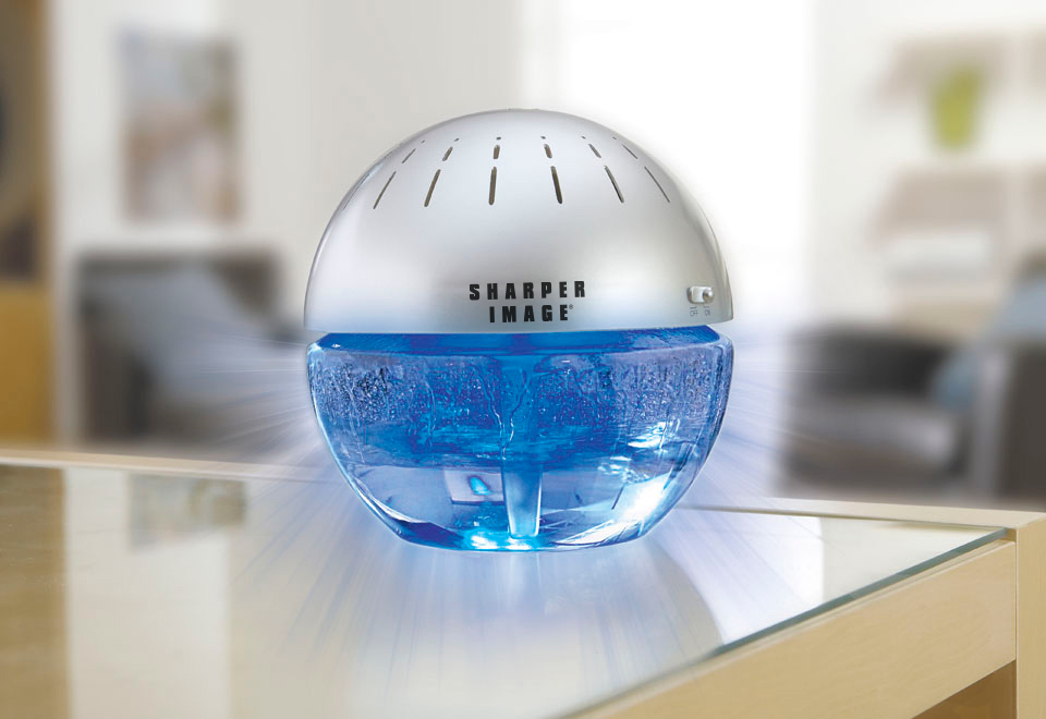 Lighted Water Air Purifier and Freshener @ Sharper Image