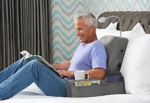 Warming Backrest Massager At Sharper Image