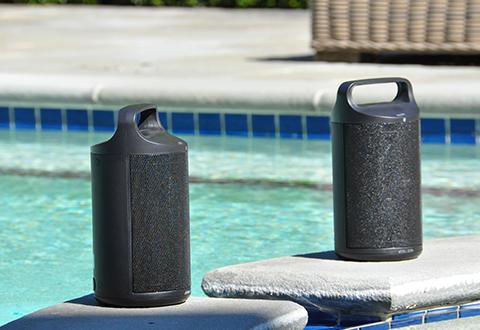 Wireless Indooroutdoor Water Resistant Speakers Set Of 2