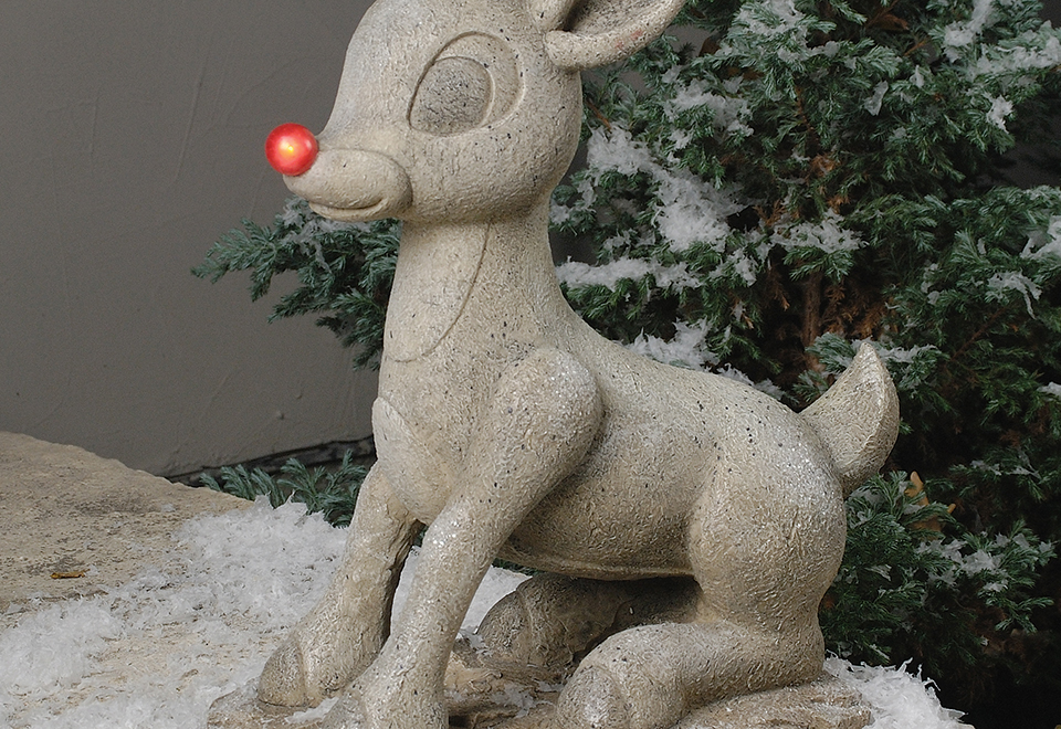 Sharper Looks Watches >> Solar Powered Rudolph @ Sharper Image