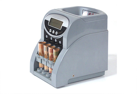 Heavy Duty Electric Coin Sorter Sharper Image