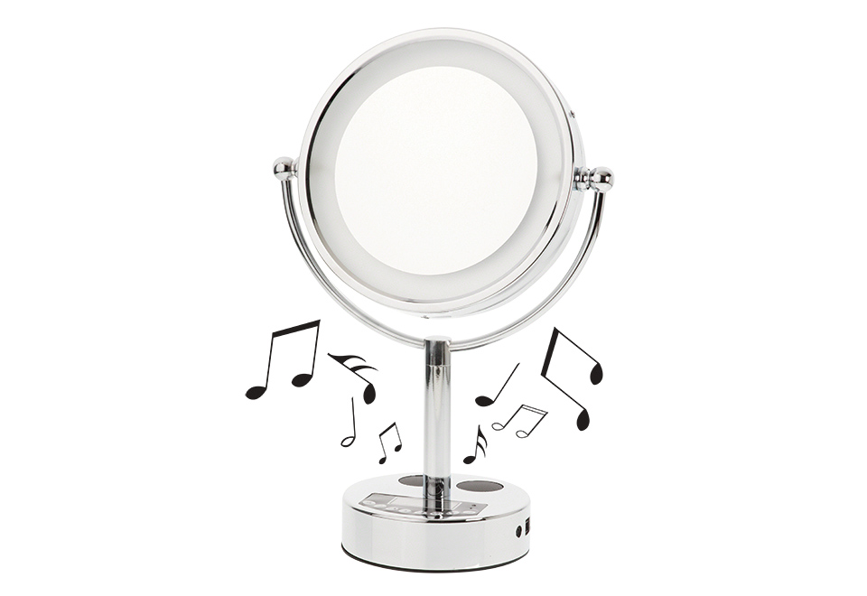 Bluetooth Vanity Mirror At Sharper Image