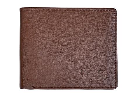 Men S Rfid Wallet With Gps Tracker Sharper Image