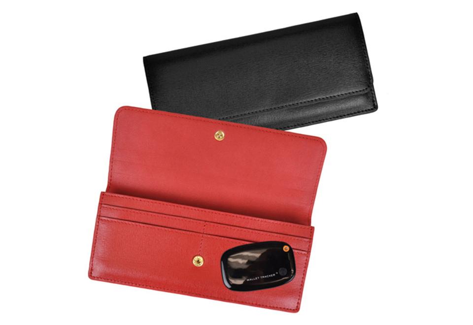 Women S Rfid Wallet With Gps Tracker Sharper Image