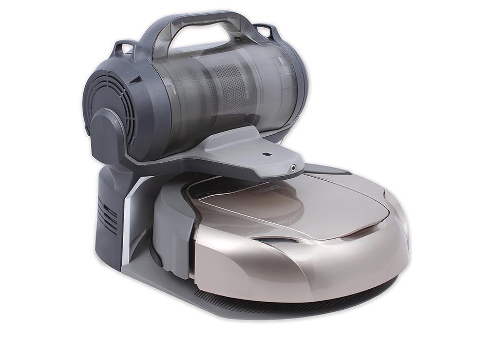 Self Emptying Robot Vacuum With Hepa Filter Sharper Image