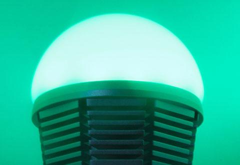 App Controlled Color Changing Led Bulb Sharper Image
