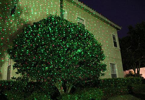 100% Satisfaction Guaranteed - Landscape Laser Light Projector @ Sharper Image