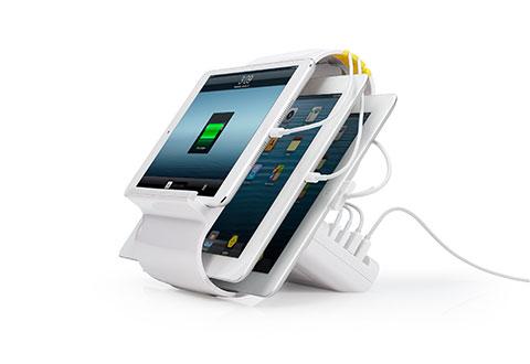 Smartphone And Tablet Charging Dock At Sharper Image