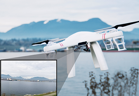 Video Camera Drone At Sharper Image