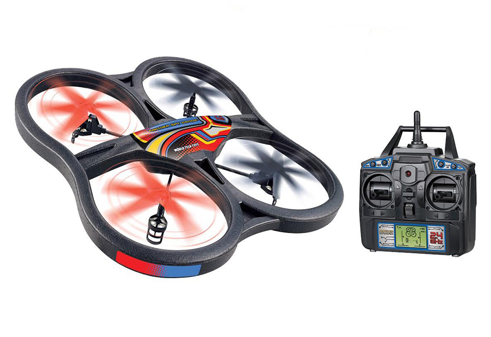 Spy Drone Ufo With Video Camera At Sharper Image