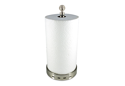 Usb Paper Towel Holder And Charger At Sharper Image