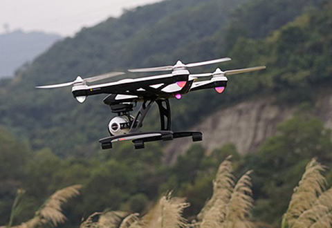 Steady Cam Hd Video Drone At Sharper Image