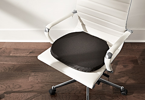 Gel Seat Cushion At Sharper Image