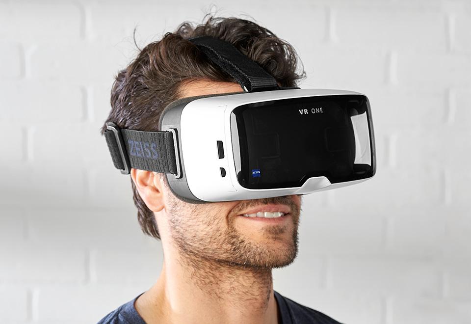 Vr One Plus Virtual Reality Glasses At Sharper Image