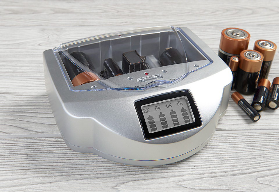 Universal Battery Charger At Sharper Image