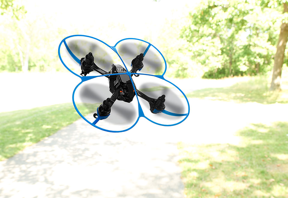 Quad Smart Drone At Sharper Image