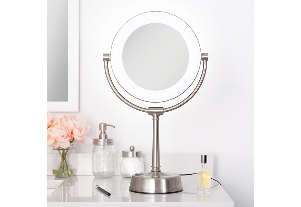 The Best Adjustable Vanity Mirror Sharper Image