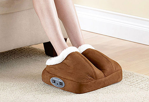 Warming Foot Massager At Sharper Image