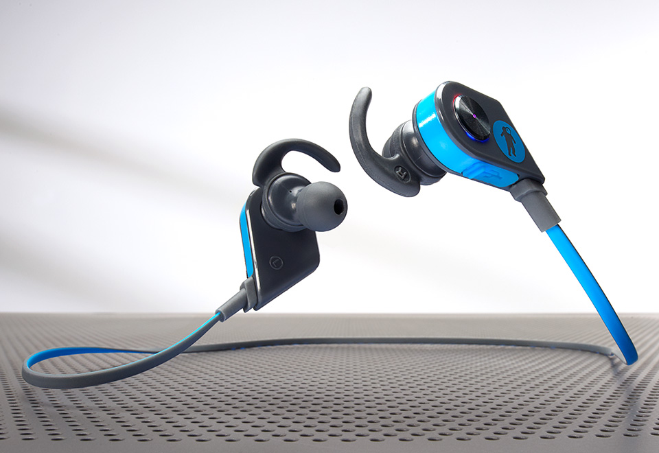 Magnetic Bluetooth Wireless Earbuds At Sharper Image