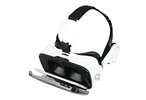 Bluetooth Vr Headset With Earphones At Sharper Image