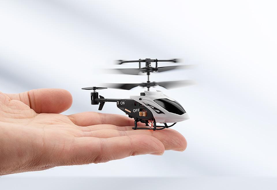 Nano Rc Chopper At Sharper Image