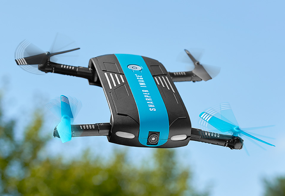 Pocket Video Drone At Sharper Image