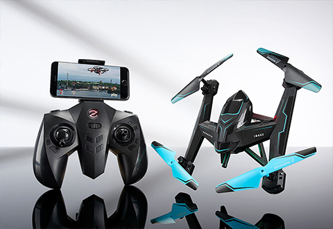 Steady Flying Wi Fi Camera Drone At Sharper Image
