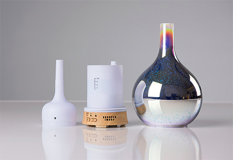 3 D Ultrasonic Aromatherapy Diffuser At Sharper Image
