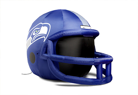NFL Inflatable Lawn Helmet @ Sharper Image