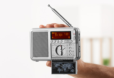 Clocks & Radios @ Sharper Image