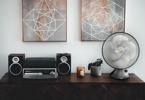 Vornado 174 Vintage Oscillating Fan Sharper Image